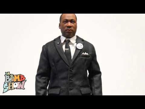 DID MLK Martin Luther King, Jr. 1/6th figure elite showcase Da Bomb Show