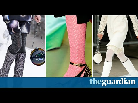 Rich seam: why the fashion pack is back in love with tights