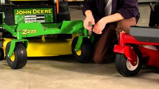 Zero Turn Riding Lawn Mower Comparison: Toro vs. John Deere