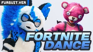 [FURSUIT YEAR] FORTNITE DANCE CHALLENGE!