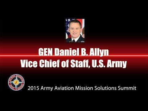 GEN Daniel B. Allyn, Vice Chief of Staff, U.S. Army