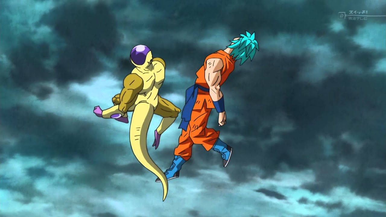 Dragon Ball Z Iphone Wallpaper Db Super Ssgss Goku Vs Golden Frieza With Opm Opening Song