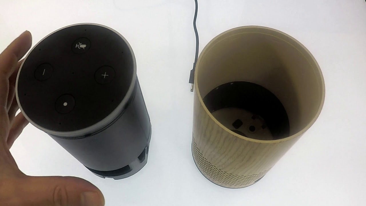How to remove or replace the case on a 2nd Gen Amazon Echo