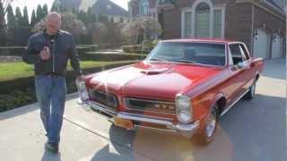 1965 Pontiac GTO Tri-Power Classic Muscle Car for Sale in MI Vanguard Motor Sales