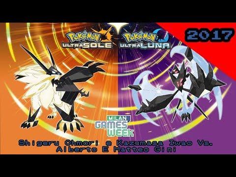 Milano Games Week: Pokémon Ultra Sole/Luna: Shigeru Ohmori e Kazumasa Iwao Vs. Alberto E Matteo Gini
