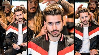 AWESOME Volume Quiff   Mens Haircut and Hairstyle 2018   BluMaan 2018