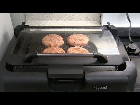 megachef-reversible-indoor-grill/griddle-with-removable-glass-lid-overview