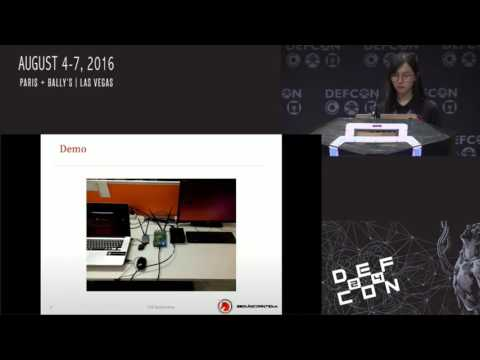 DEF CON 24 - Haoqi Shan, Wanqiao Zhang - Forcing a Targeted LTE phone into Unsafe Netw
