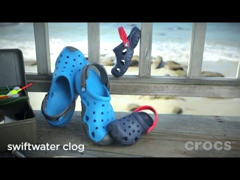 8d1dbb9ba8d37 Crocs | Swiftwater Collection - YouTube