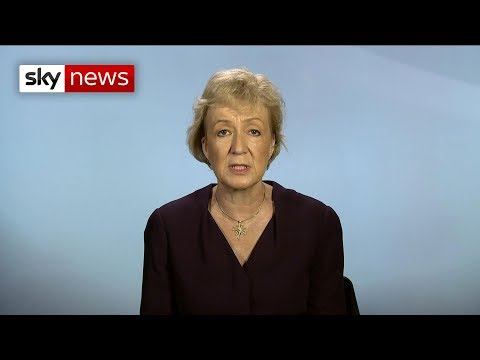 """Leadsom: PM's Brexit deal is a """"political risk"""""""
