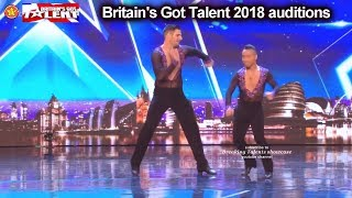 Baixar David and Javier Awesome Dance Duo Auditions Britain's Got Talent 2018 BGT S12E02
