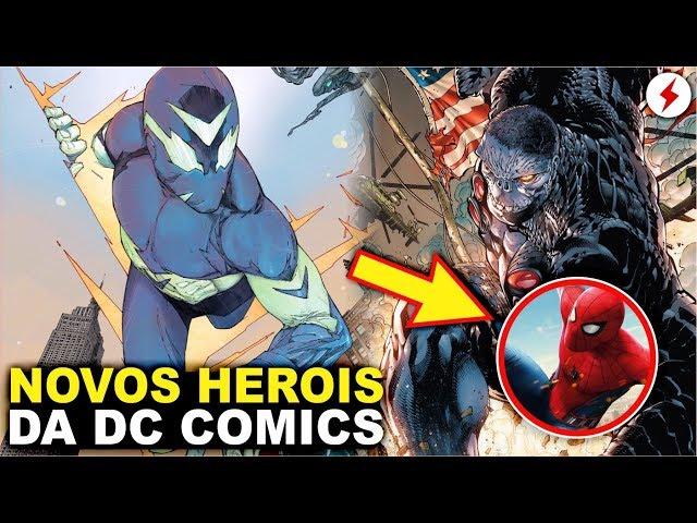 OS NOVOS SUPER HERÓIS DA DC COMICS CÓPIAS DA MARVEL / Espaço Nerd