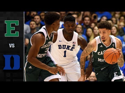 Eastern Michigan vs. Duke Basketball Highlights (2018-19)