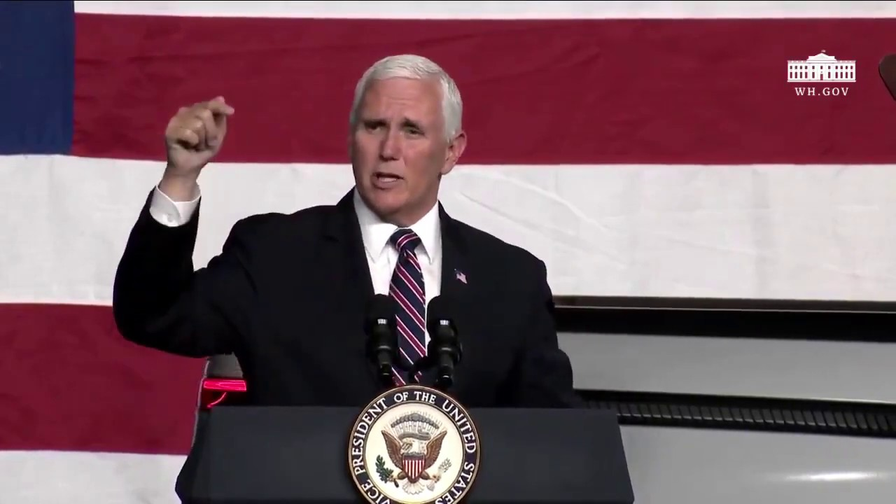 "Vice President Pence on the strong May Jobs Report: ""America is coming back!"""