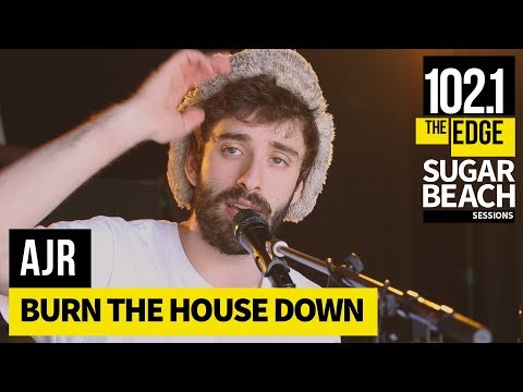 AJR - Burn the House Down (Live at the Edge)