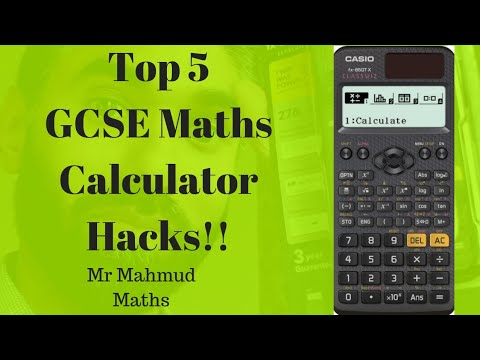 Top 5 GCSE Maths Calculator Hacks With Exam Questions Example | Calculator Paper 2 And 3 Revision