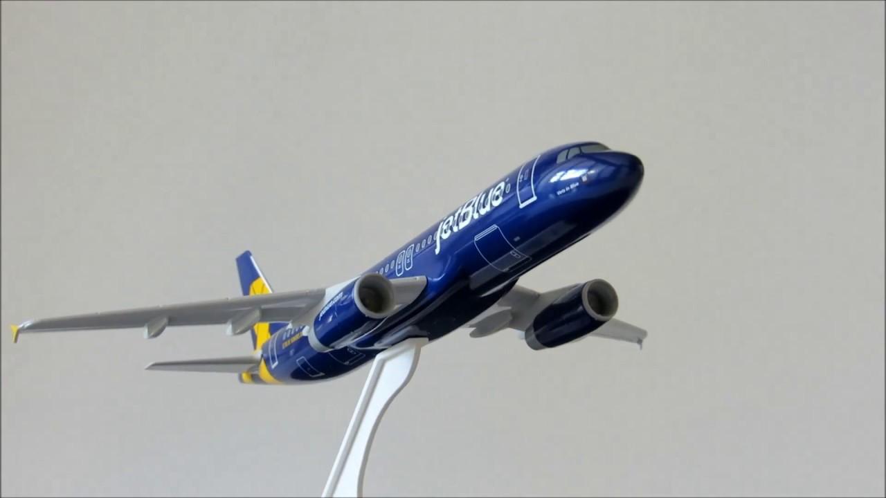 Skymarks jetBlue Airways Veterans Airbus A320 1:150 SKR996