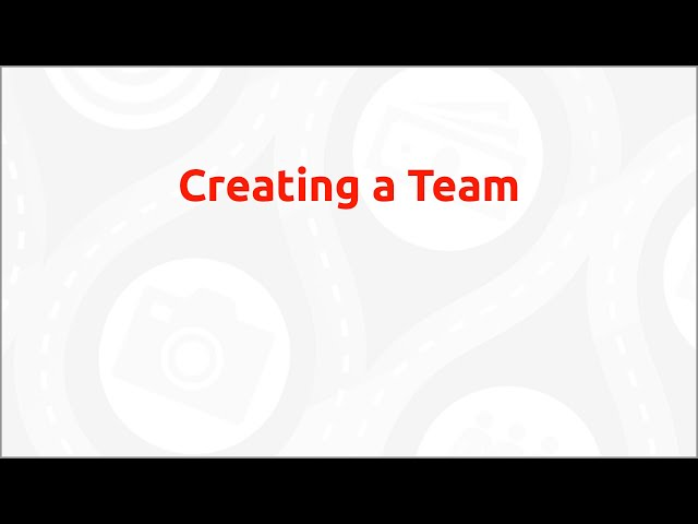 Classy How-To - Creating a Team