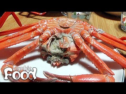 박달홍게, 게살이 가득한 집에서 삶은 동해 홍게 먹방 시식기와 맛있게 먹는 방법