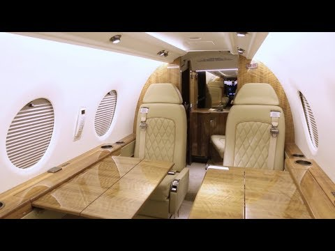 400xti Aircraft Interior Refurbishment Youtube