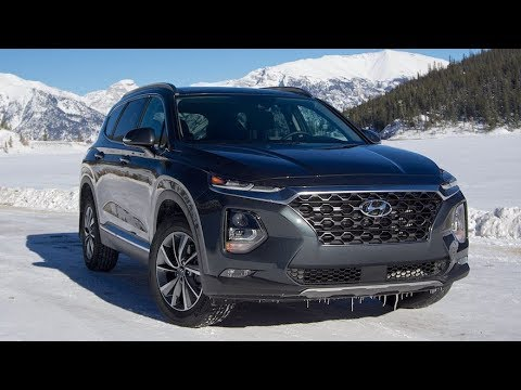 2019 Hyundai Santa Fe Review Youtube