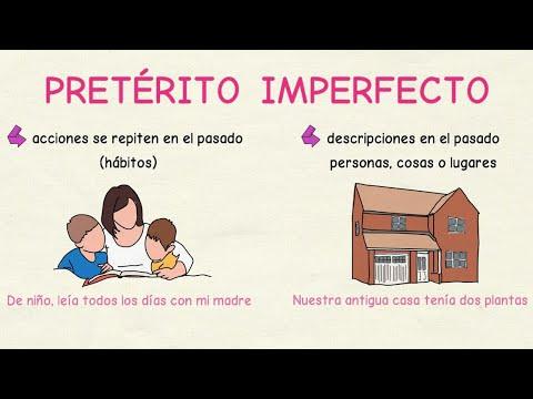 Aprender español: Diferencias entre el pretérito indefinido y el imperfecto  (nivel básico)