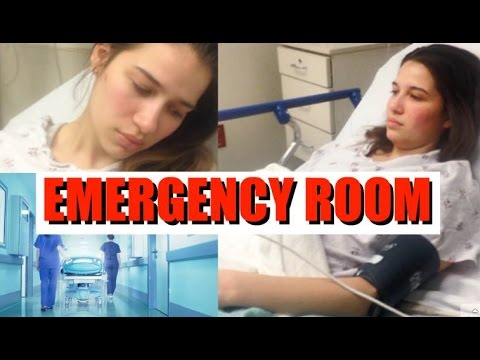 MY SCARY EMERGENCY ROOM STORY!