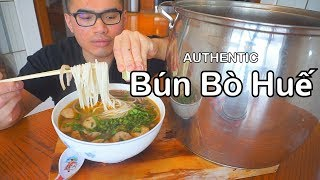 connectYoutube - How to cook an authentic bowl of Bún bò Huế  - SPICY Vietnamese Beef Noodles Recipe