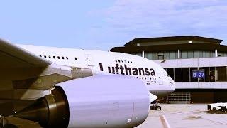 FSX - Approach to Frankfurt, Germany A380