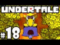 UNDERTALE Blind Gameplay Playthrough PART 18 - New Home, Sans's Judgment, King Asgore Dreemurr