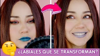 MÁS DE 200 LOOKS CON UN LABIAL / REVIEW /- miku ♥