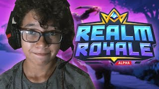 PLAYING FORTNITE DE POBRE | The Realm Royale