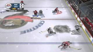 NHL 06 Sabres @ Senators - Dynasty Mode Gameplay Part 1 HD