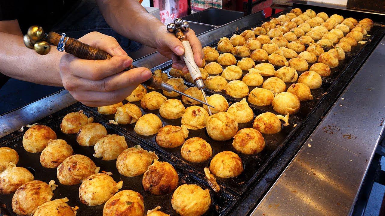 타코야끼 달인 / Amazing Skill of Takoyaki Master - korean street food