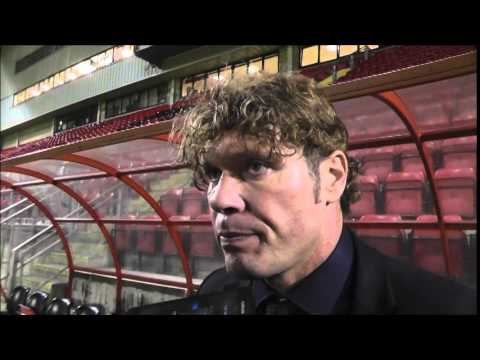 Mauro Milanese post Preston defeat (clip from Orient Player)