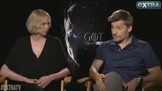Gwendoline christie and nikolaj coster-waldau and the characters they wish hadn't been killed off