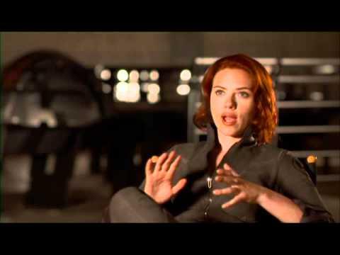 The Avengers- Scarlett Johansson Black Widow - Interview