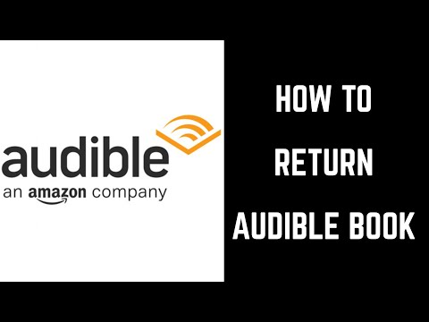 How To Return A Book On Audible