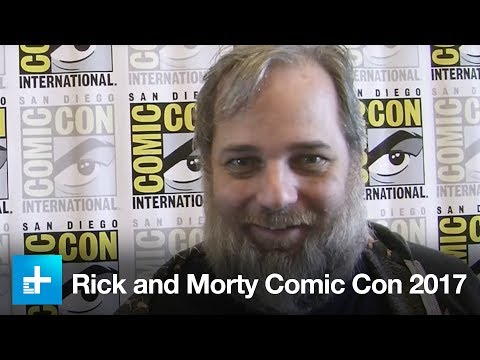 We chat with Rick and Morty creator Dan Harmon and other cast at San Diego Comic Con 2017