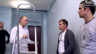 Обучение самостоятельному монтажу натяжных потолков. Монтаж потолков вместе с АстаМ
