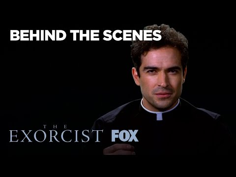 Alfonso Herrera Talks About His Character Father Tomas  Season 1  THE EXORCIST
