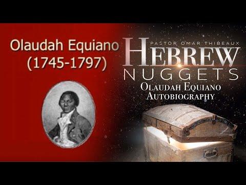 Hebrew Nugget - Olaudah Equiano Autobiography
