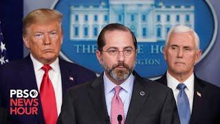 WATCH: Trump, coronavirus task force speak from the White House