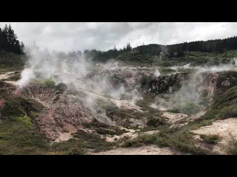 New Zealand Taupo geothermal Park