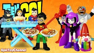 Teen Titans Go! Justice League Holds a Talent Show for Cooking with Host Harley Quinn