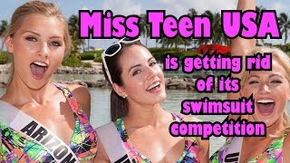 Miss Teen USA is getting rid of its swimsuit competition