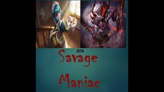 Mobile Legends - Martis Savage Maniac