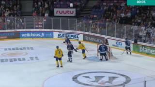 Suomi - Ruotsi   KARJALA-TURNAUS 2016
