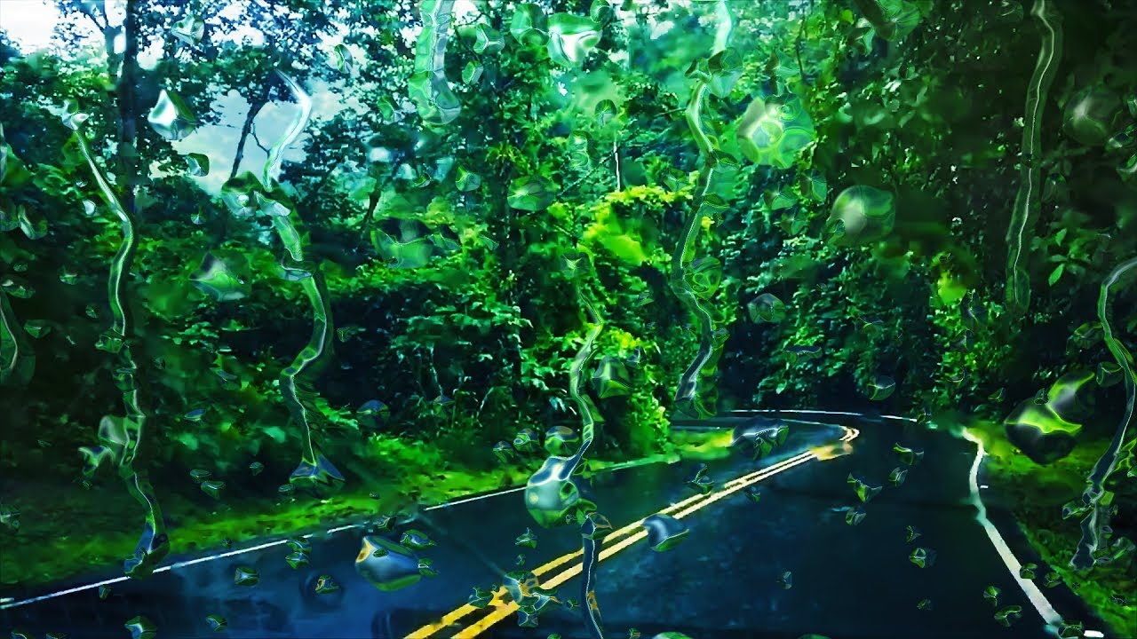 Rain Sounds While Driving Sleep Study Focus