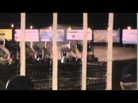8/21/15 World of Outlaw and NLRA Highlights River Cities Speedway